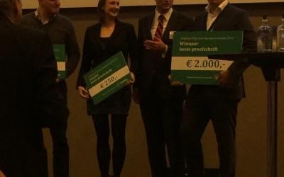 3e plaats Tulip Med Prijs voor Sportgeneeskunde